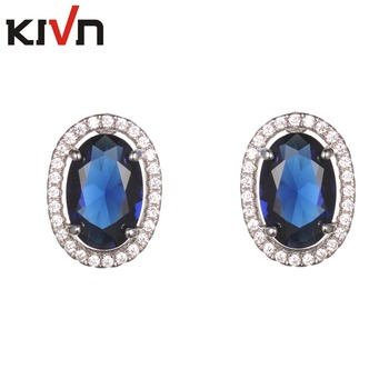 Womens Fashion Jewelry Pave CZ Cubic Zirconia Bridal Wedding Earrings for Girls Birthday Christmas Gifts 10pcs Lots Wholesale