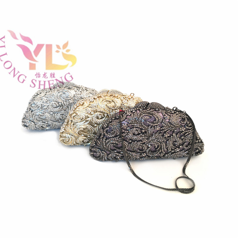 Vintage Rhinestone Clutch Evening Bags Women Rhinestone Flower Event/Party/Evening Clutches Bag  Gold Black Silver YLS-F63 marsel salimov the bird s milk a humorous story with a light touch of satire