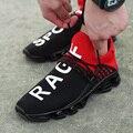 Новые Модные Повседневные туфли для мужчин  дышащие сетчатые мягкие удобные прогулочные мужские туфли  уличные Прогулочные кроссовки боль...
