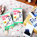 100% original 20/caja de fujifilm instax mini film blanco borde 40 unids para fuji instax mini cámara mini 7 s mini8 25 50 s rápido