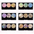 1pcs Mineral Baked Eyeshadow Makeup Palette 3D Diamond Earth Shimmer Eyeshadow Beauty Cosmetic Set