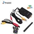Podofo 903 Вт 2,4G 30fps видео в реальном времени wifi передатчик Автомобильная резервная камера заднего вида для FPV фотографии AV/DC/Антенна Интерфейс