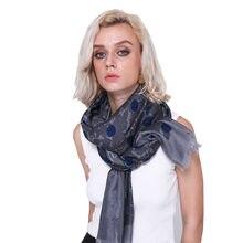 Multi spot femmes hiver automne coton doux écharpe léger écharpe châles  hijab foulard femme bandana femmes d6919ff2a54