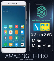 Nillkin Amazing H Pro Tempered Glass Protective For Xiaomi Mi5s Plus 0 2mm 2 5D Anti