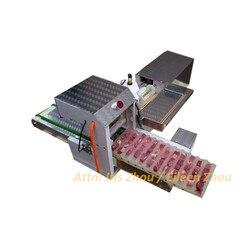 1600 szt/h kebab mięso sznurka/maszyna do kabab maszyna do produkcji/mięso maszyna do szpikulców w Roboty kuchenne od AGD na
