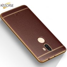 KISSCASE Litchi Texture Plating Soft Cover for xiaomi redmi 4X 4A Note 4X Note 2 3 4 Soft Case for Xiaomi 5 5s 6 4 5s plus Case