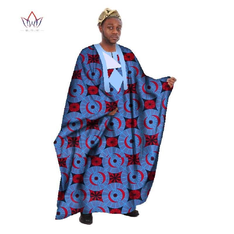Egendefinert menn Afrikansk klær Langermet menn Løs Thobe Robe - Nasjonale klær - Bilde 5