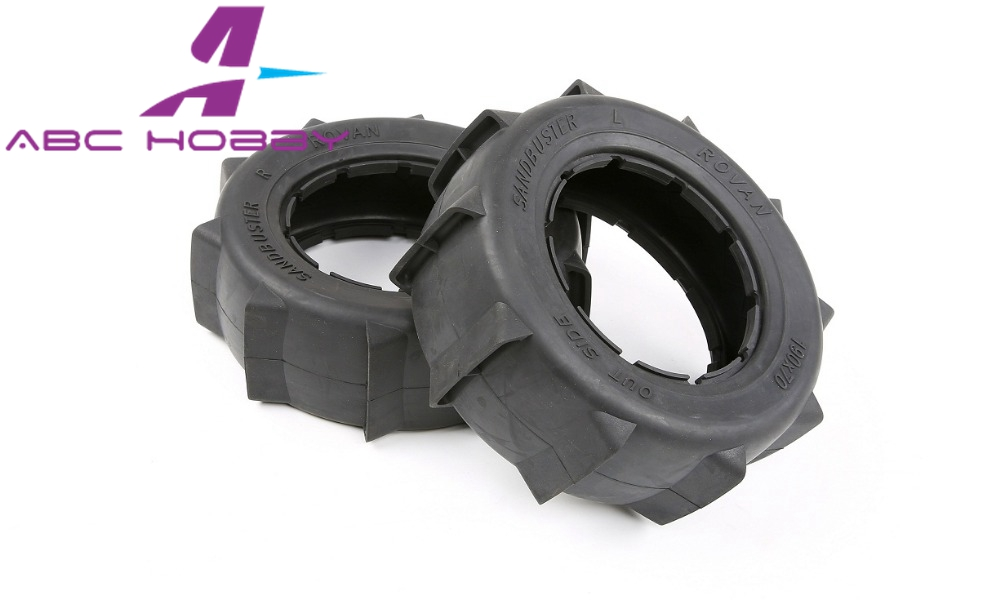 losi 5ive-t Lt Truck 1/5 Lt Truck Sand Tyres Skin Set Also Fit For Slt/ Hpi 4wd Attractive Appearance
