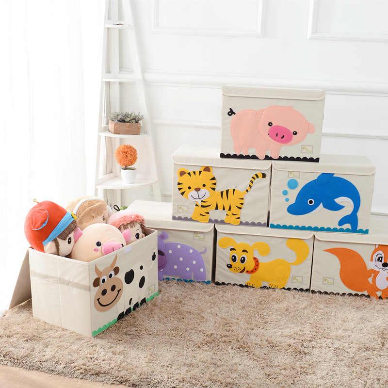 Storage Box Animal Embroidery