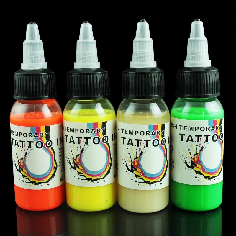 Temporary Tattoo Ink: OPHIR Temporary Tattoo Airbrush Inks Pigment Body Art