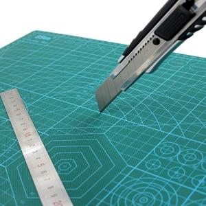 Image 5 - A3 PVC kendinden şifa kesme Mat kumaş deri kağıt zanaat DIY araçları çift taraflı şifa kesme tahtası