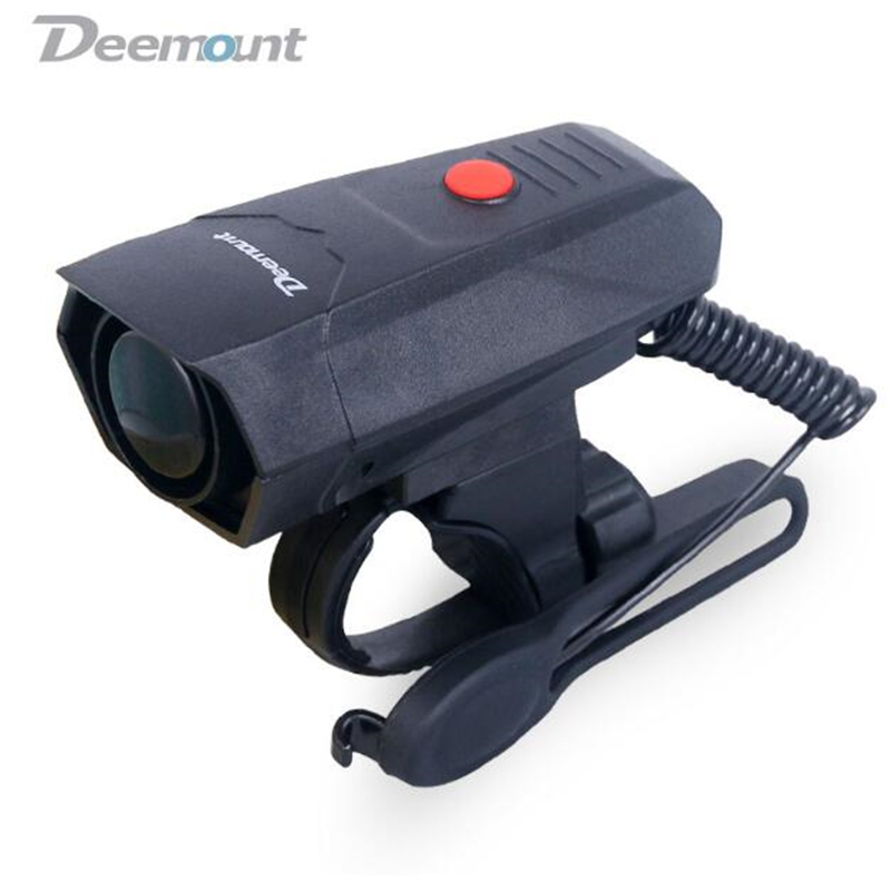 Electric Loud MTB Bicycle Air Horn Ring Road Bike Handlebar Bell Siren Cycling Air Alarm Alert 120db Noise 5 Sounds