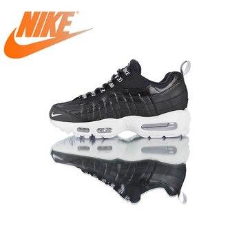 2110fac4 Original auténtico Nike Air Max 95 Premium zapatos para correr para hombre  zapatillas deportivas transpirables para exteriores calzado diseñador  538416-020