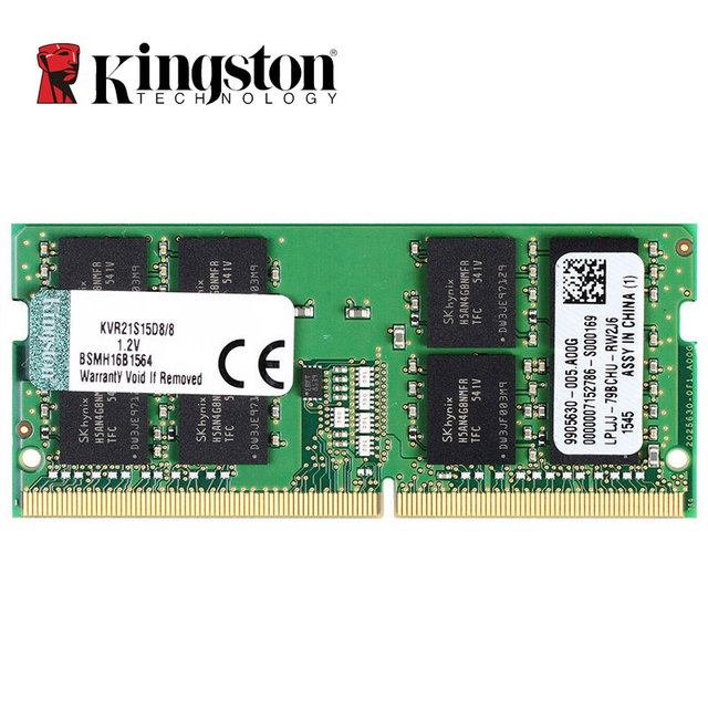 Kingston Memoria RAM DDR4 8GB 4GB 2133MHz Intel Memory Ram