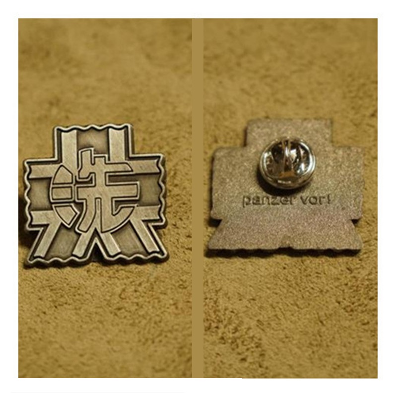 Ooarai Girls High School - Girls Und Panzer Darjeeling Brooch Badge Collar Badge Cosplay Props Collection Accessories
