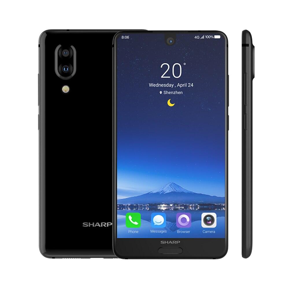 HTB1Z4uXR4TpK1RjSZFKq6y2wXXaE Global Version Sharp AQUOS S2 C10 4GB+64GB 5.5inch FHD+ Android8.0 Octa Core 12MP+8MP NFC Fingerprint 4G Smartphone