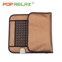 POP RELAX healthcare Korea germanium tourmaline jade mattress electric heating therapy massage mat pad cushion nuga