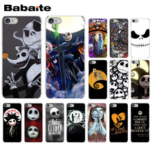 Jack Skellington The Nightmare Before Christmas Luxury High-end Protector Case for iPhone X XS MAX 6 6S 7 7plus 8 8Plus 5 5S XR