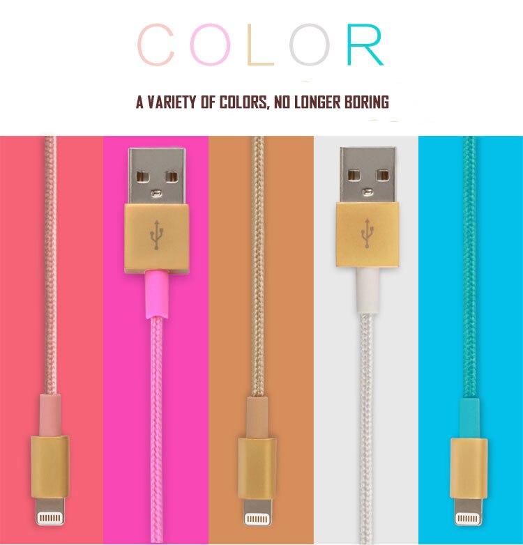 Skw <font><b>mfi</b></font>-контроллеров кабель Lightning для <font><b>iPhone</b></font> 6 6 S 7 Джинсовые USB кабель быстро для Apple <font><b>Iphone</b></font>