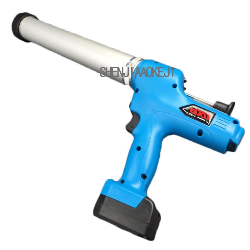 1PC DCG-72 Portable Electric Glue Gun 7.2V Rechargeable Lithium Battery Dual-use Glue Gun Soft \ Hard Glass Glue Tool