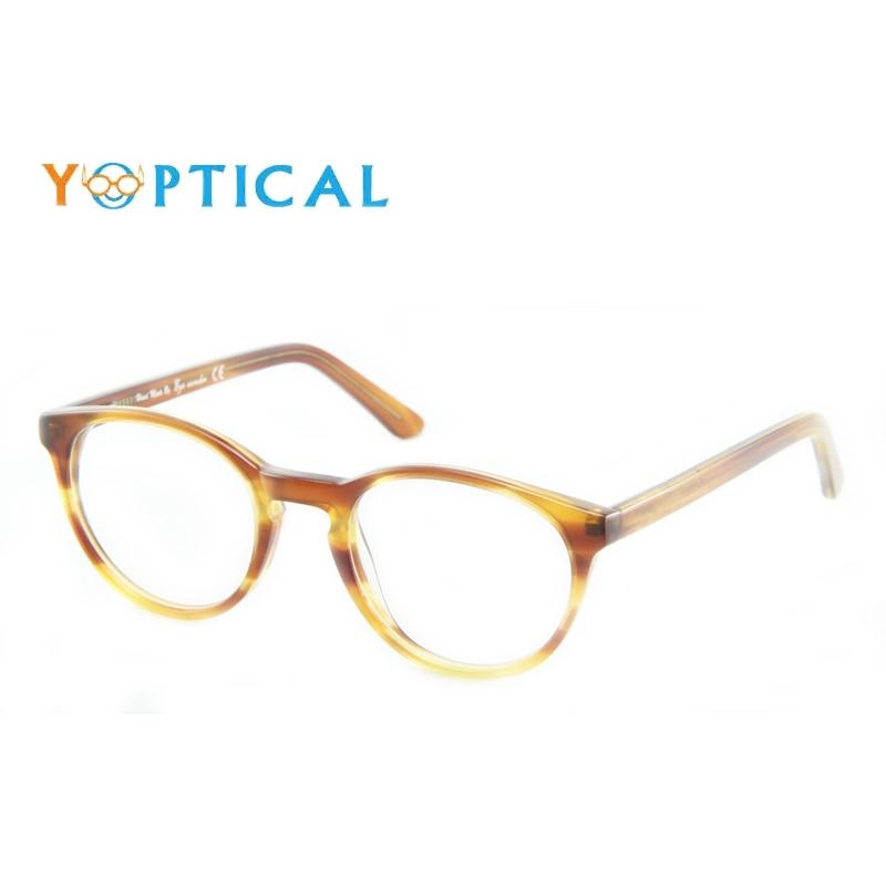 Maravilha dos olhos por Yoptical Acessórios Gafas Lunettes Oculos Mulheres  Óculos Redondos Óculos de Armação dos 35383165ea