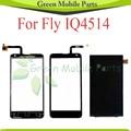 Painel de toque Para A Mosca IQ IQ4514 4514 Digitador Screen Display LCD + Digitador Da Tela de Toque