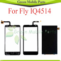 Touch Panel For Fly IQ4514 IQ 4514 Digitizer Screen + LCD Display Touch Screen Digitizer