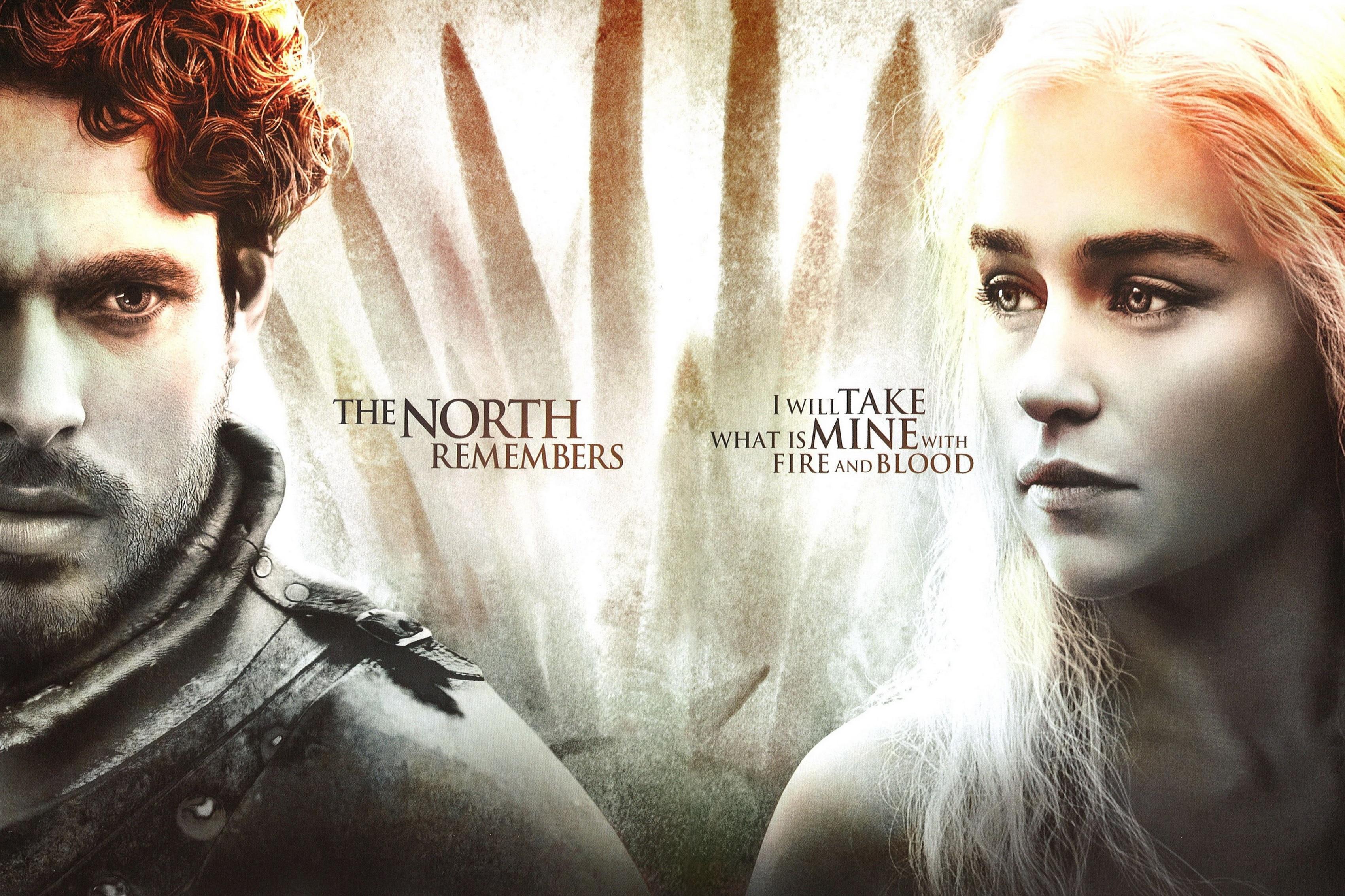 Dekoration Game Of Thrones Saison 3 Seide Stoff Plakat-druck DY074