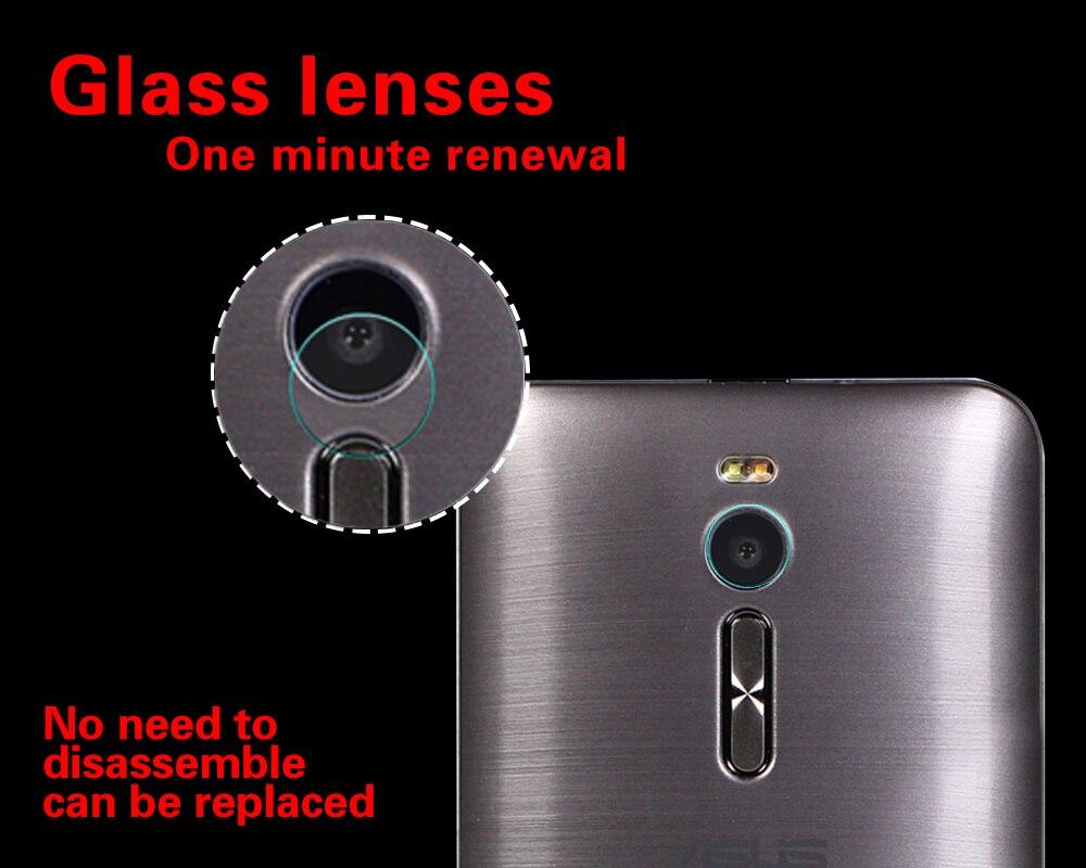 Back Camera Lens 2.5D Tempered Glass Film For Asus Zenfone 2 ZE550ML ZE551ML Z3580 5.5 Rear Camera Lens Explosion Proof Film