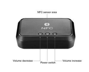 Image 4 - Nfc Draadloze Bluetooth 4.1 Audio ontvanger Draagbare Bluetooth Adapter Nfc Enabled 3.5Mm Rca Stereo Muziek Geluid Tv Auto speaker