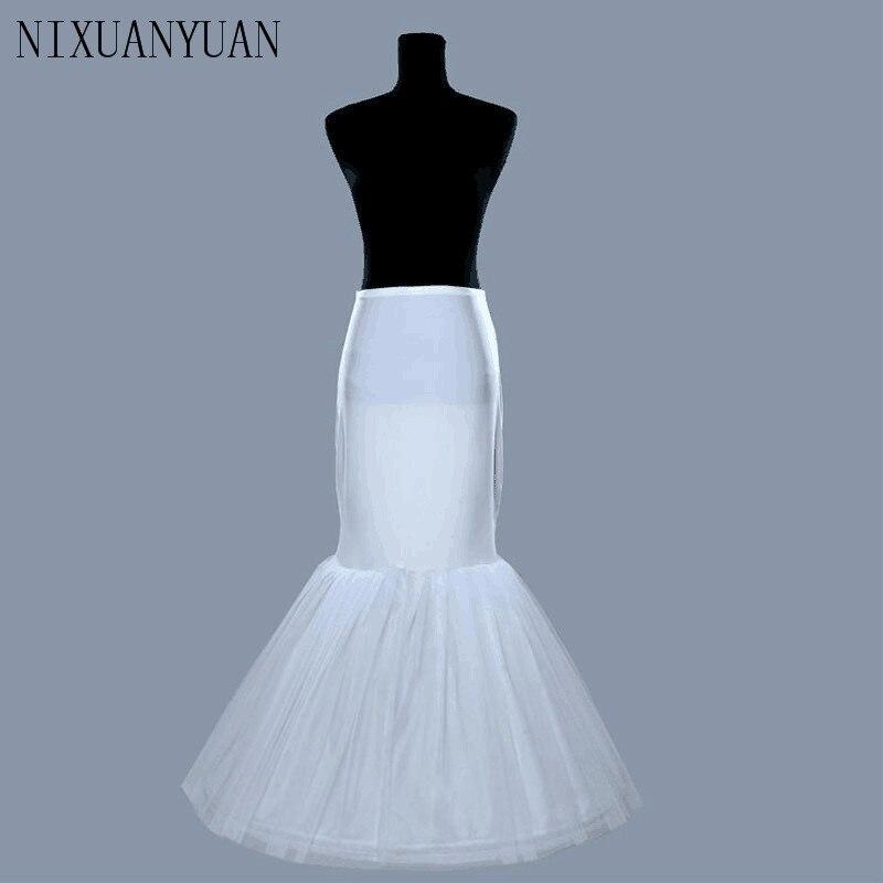 PWV276 Free Shipping Wedding Dress Bridal Gown Fishtail Mermaid Petticoat Underskirt