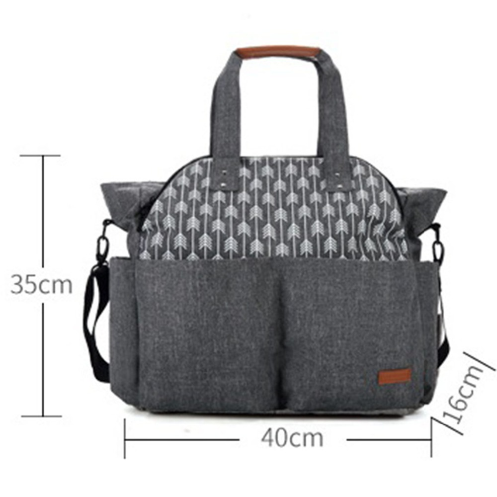 Diaper Bags infant stroller care handbags women mom Mummy pram large capacity trolley nappy mother Travel backpack baby children