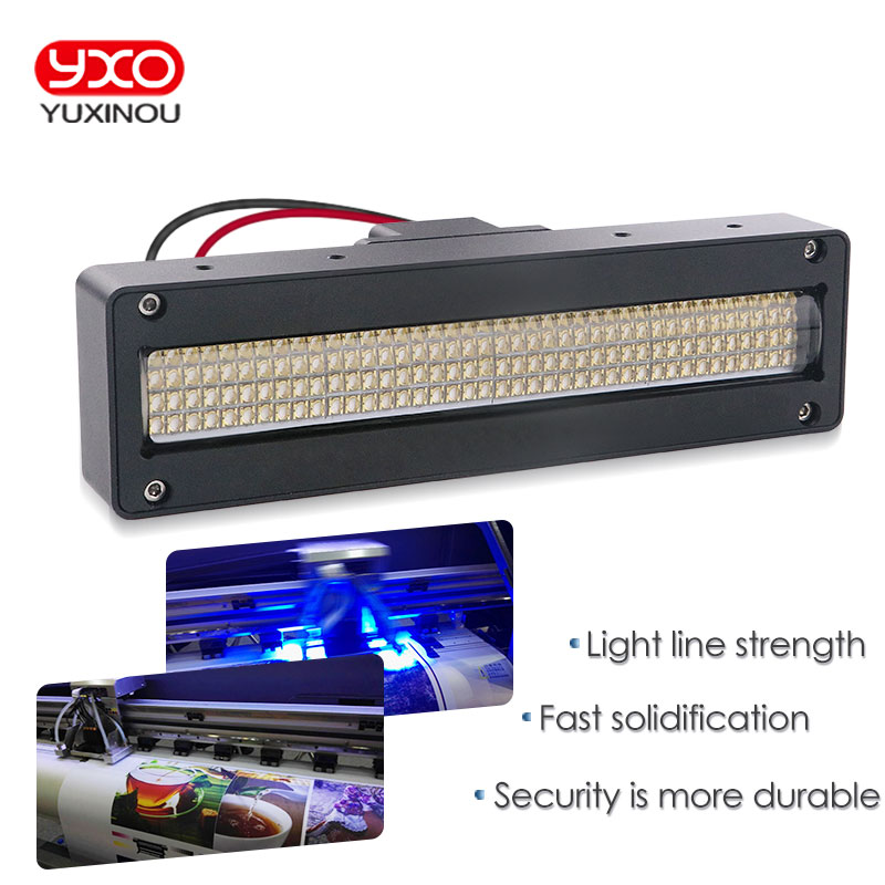 1pcs 160w 180w 200w uv Flatbed printer curing led light for UV paint curing machine led