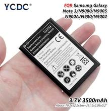 Original 3500mAh Mobile for Samsung Galaxy Note 3 III note3 N9000 N9005 N900A N900 N9002 N9008 N9009 N9006 Phone Lithium Battery цена 2017