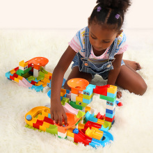 Marble Race 52-Piece Building Blocks Set