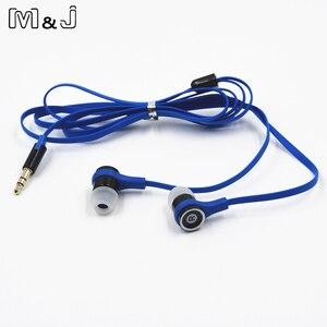 Image 4 - M & J JM21 oryginalne słuchawki Stereo kolorowe marki słuchawki douszne do odtwarzacza gier telefon komórkowy PC dla Xiaomi iPhone