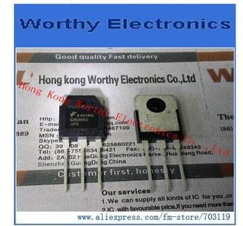 Free  shipping   10pcs/lot     SGH80N60UFDTU       G80N60     80A        600V     TO3P