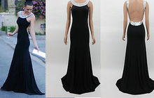 Long Sexy Evening Party Ball Prom Gown Formal Dress Fashion
