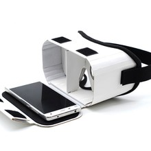 Light Castle Google Cardboard 2 2.0 Virtual Reality VR BOX II Glasses For 3.5 - 6.0 inch Smartphone Glass for iphone for samsung(China)