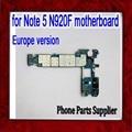 32 gb desbloqueado original para samsung galaxy note 5 n920f motherboard, europa versão para nota 5 n920f mainboard, dhl frete grátis