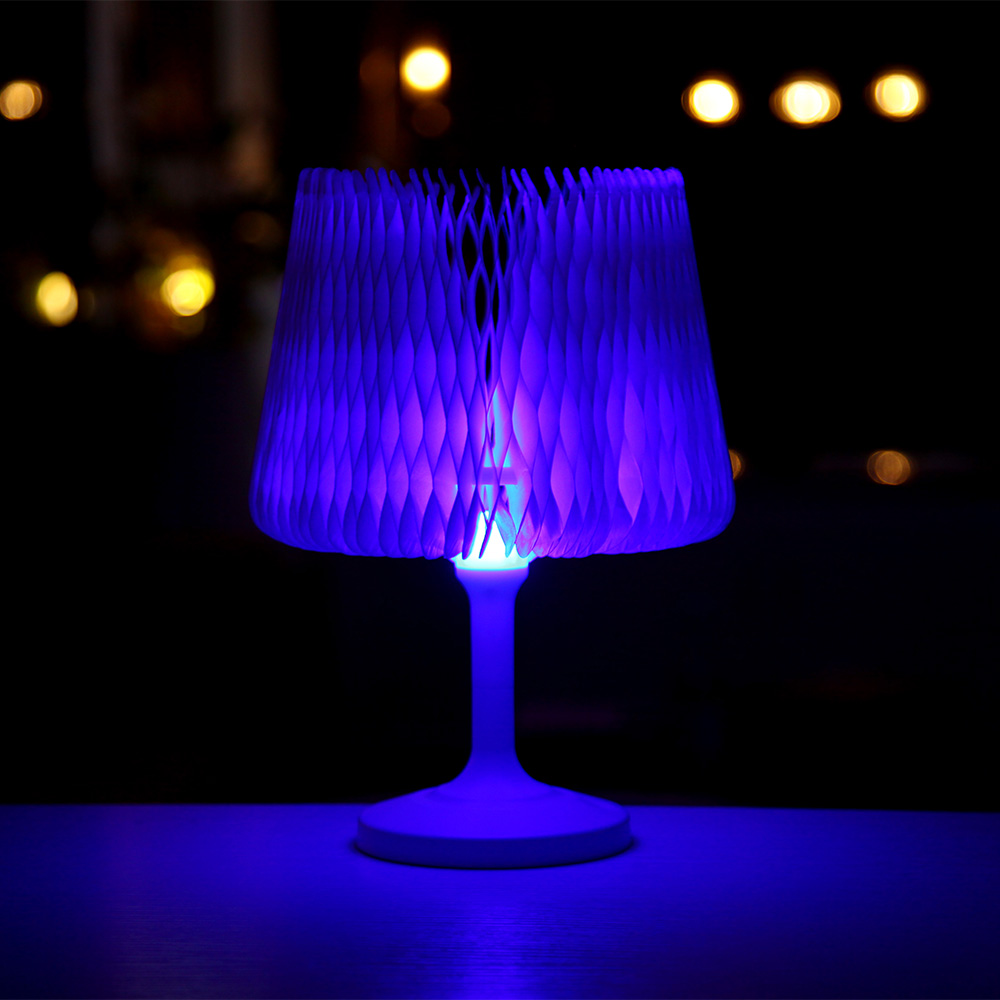 USB Rechargeable Desk Lamp Touch Switch Night Light LED Colorful Bedside Lamp Home Decoration Festival Gift стоимость