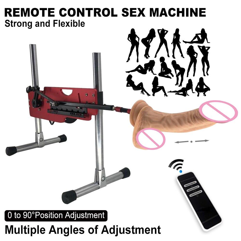 Automatic Sex Machine Pumping Gun Dildo Vibrator Power Masturbation Love Remote Control Erotic Adult Sex Toys For Women Men