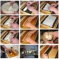 Sushi Rollen Roller Bambus Material Mat Maker DIY und A Reis Paddel Selbst-made sushi vorhang