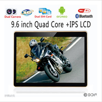 BDF New 9 6 Inch Original 3G Phone Android 6 0 Tablets Quad Core 1280x800 HD