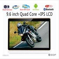 BDF New 9 6 Inch Original 3G Phone Android 6 0 Tablets Quad Core 1280x800 HD