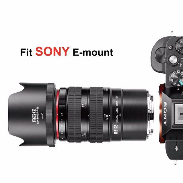 Online Shop Meike 85mm f2.8 Full Frame 1.5:1 Macro Lens for Sony e ...