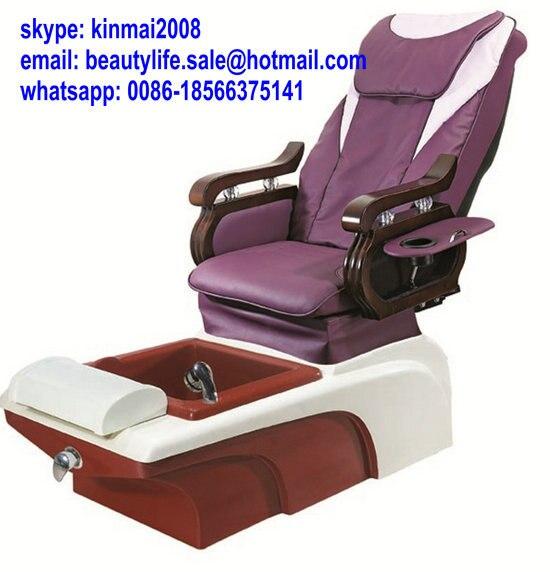 Muebles de salón de uñas pedicura sillas para foot spa massage ...