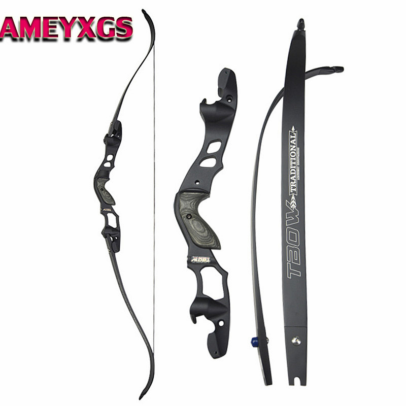 63 30-55lbs ILF Recurve Bow American Hunting Bows IBO 210FPS RH Archery Takedown Bow For Outdoor Hunting Shooting Accessories63 30-55lbs ILF Recurve Bow American Hunting Bows IBO 210FPS RH Archery Takedown Bow For Outdoor Hunting Shooting Accessories