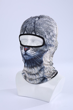 New 2017 3D Animal Ski Mask Sports Bicycle Cycling Motorcycle deadpool Masks Hood Hat Veil Balaclava UV Cap skullies beanies