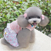2019 new arrival cheap dog clothes cotton puppy dog vest for small dog t shirt teddy babe magnet baby dog lovely cotton dog vest for small dog grey